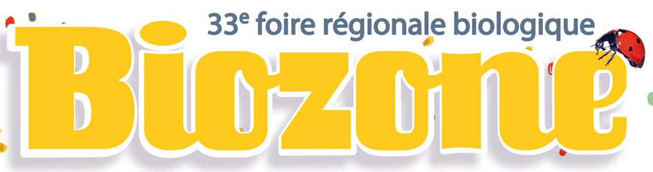 Foire régionale biologique BioZone Mûr-de-Bretagne Guerlédan 8 & 9 septembre 2018
