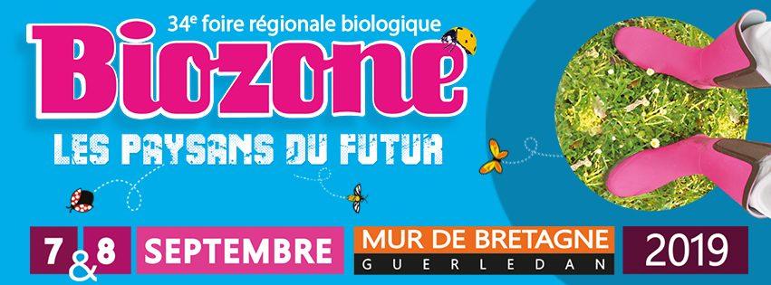 Foire régionale biologique BioZone Mûr-de-Bretagne Guerlédan 7 & 8 septembre 2019